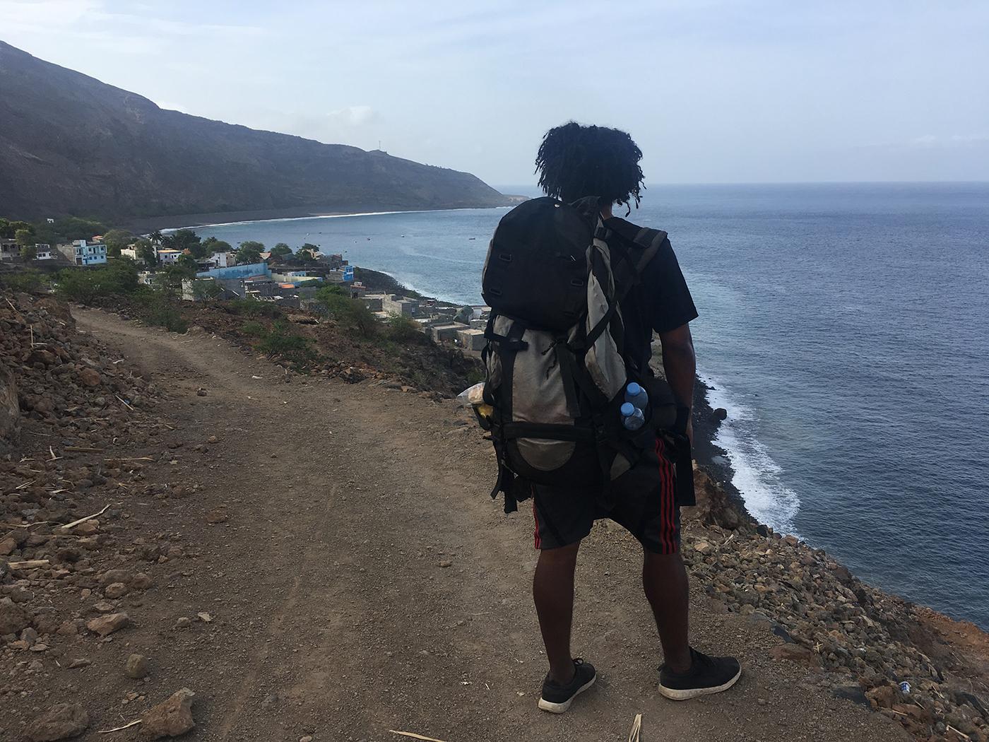 Hike van Tarrafal de Monto Trigo naar Monte Trigo