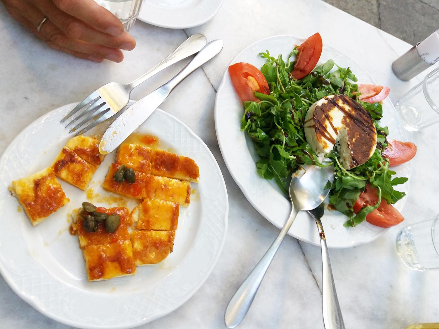 Op culinair gebied zit je in Griekenland helemaal goed!
