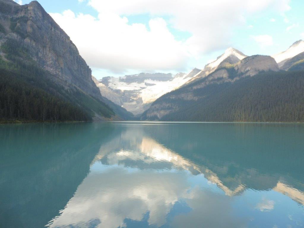 Het prachtige Lake Louise