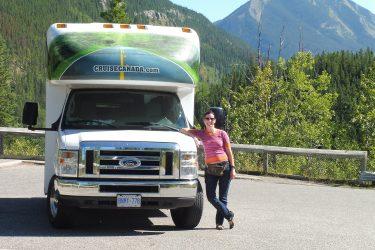 Met de camper naar the Rockies in Canada