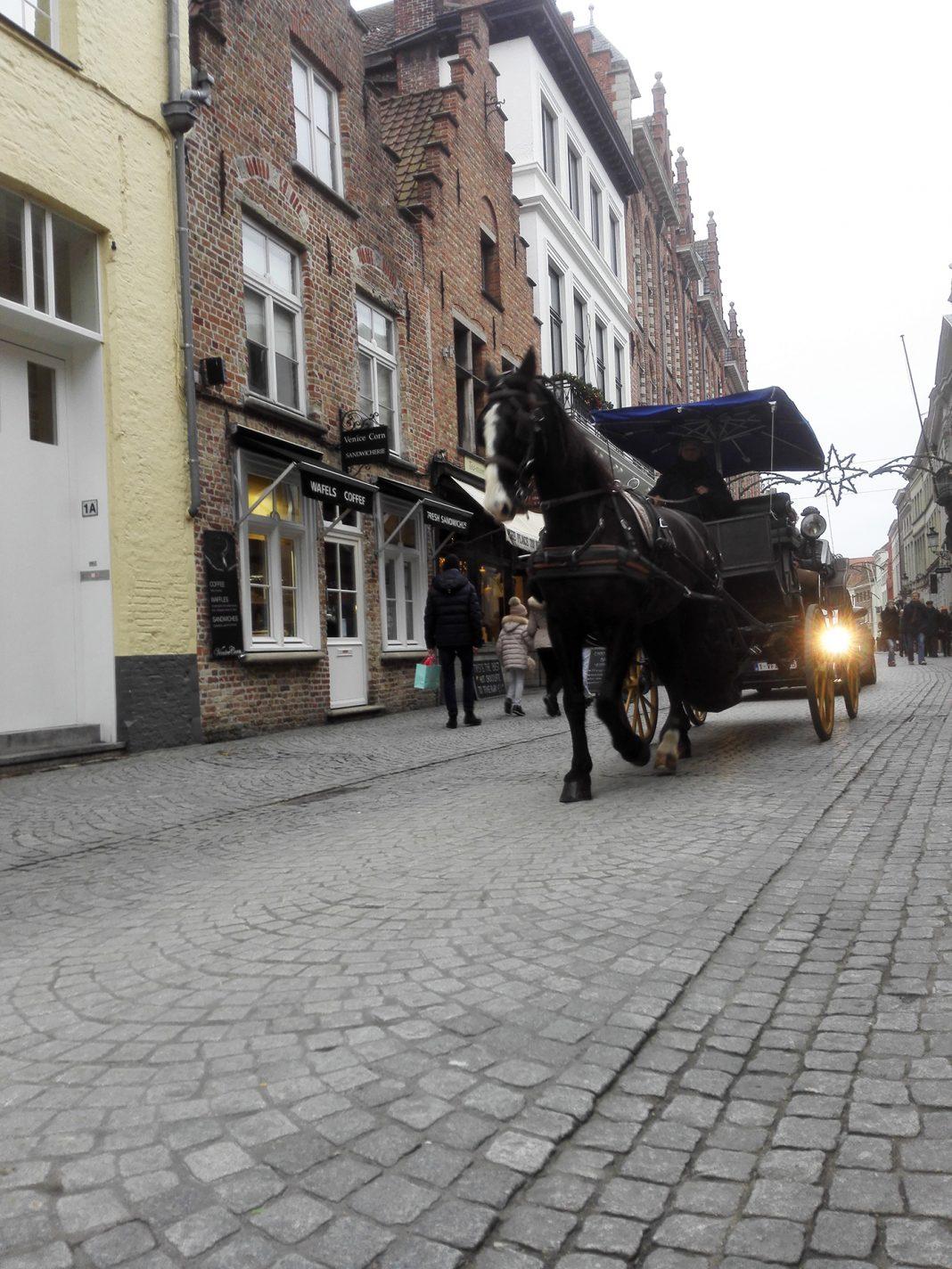 Neem de paardenkoets tijdens je stedentrip Brugge