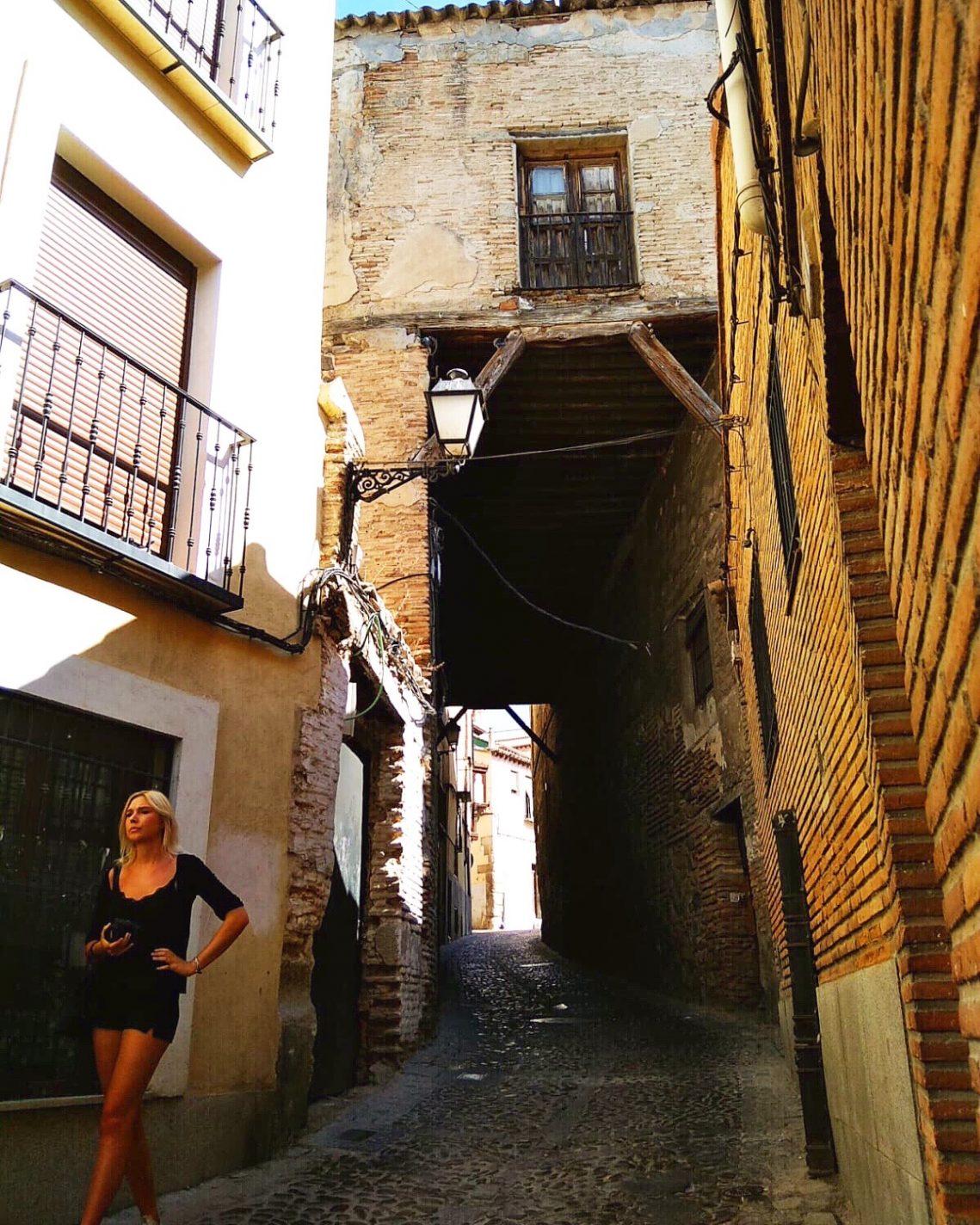 Smalle (idyllische) straatjes