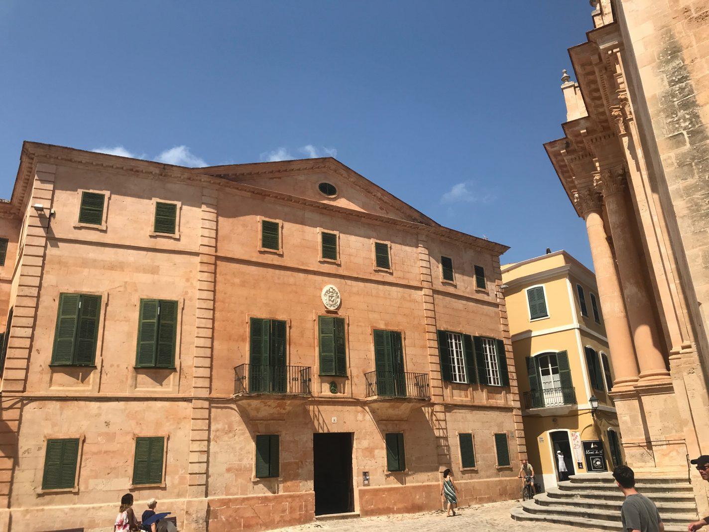 Ciutadella, de op een na grootste stad van Menorca