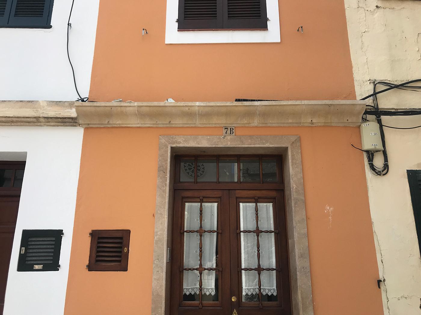 Historische gebouwen in Ciutadella