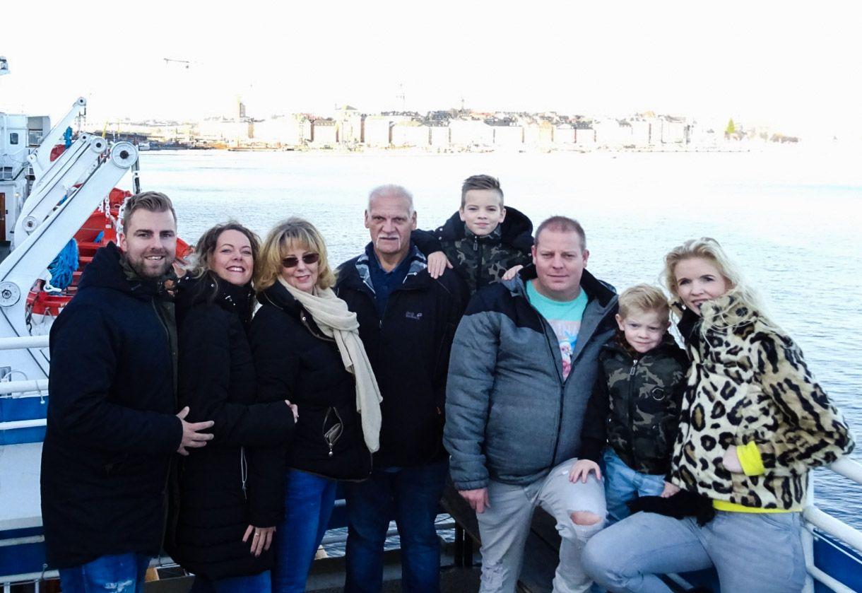 Met de hele familie naar Stockholm