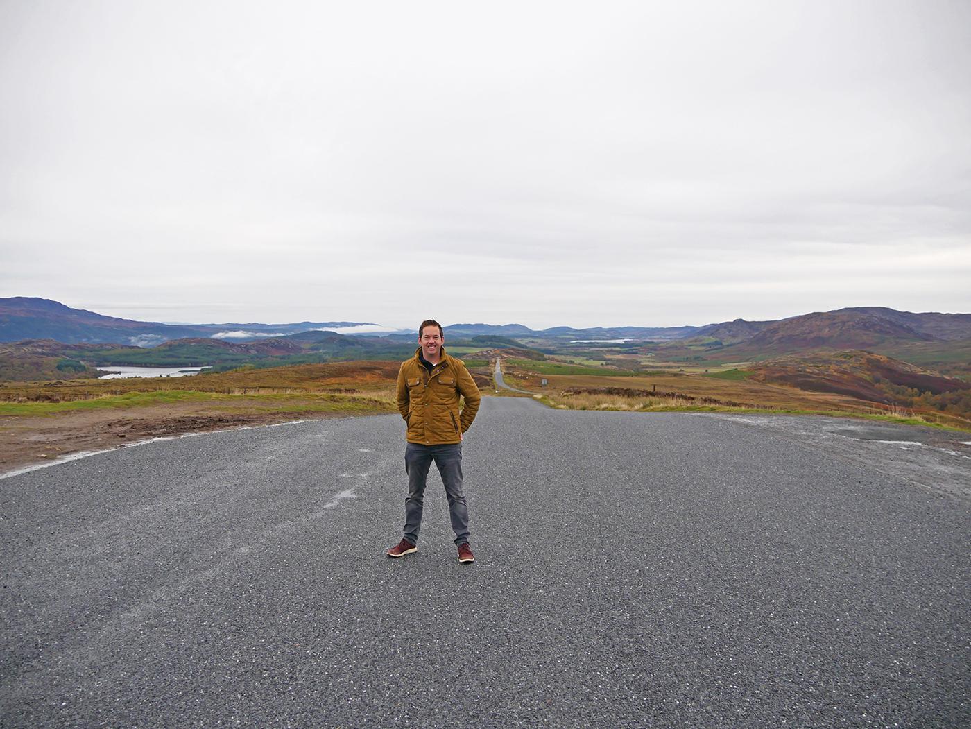 Weidse landschappen tijdens de rondreis door Schotland