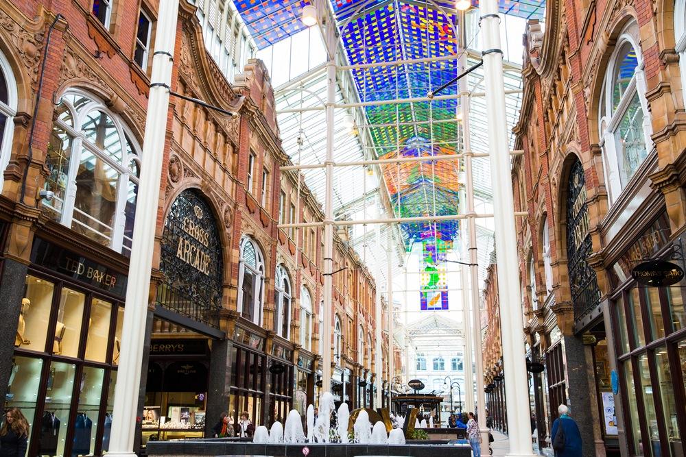 Victoria Quarter in Leeds