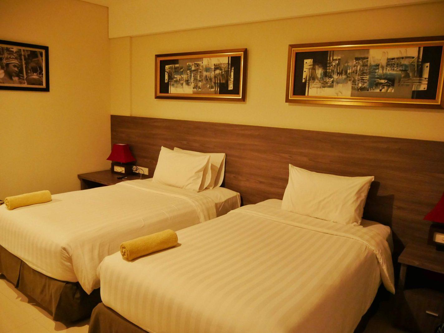Onze kamer (Puri Kesari Guesthouse)