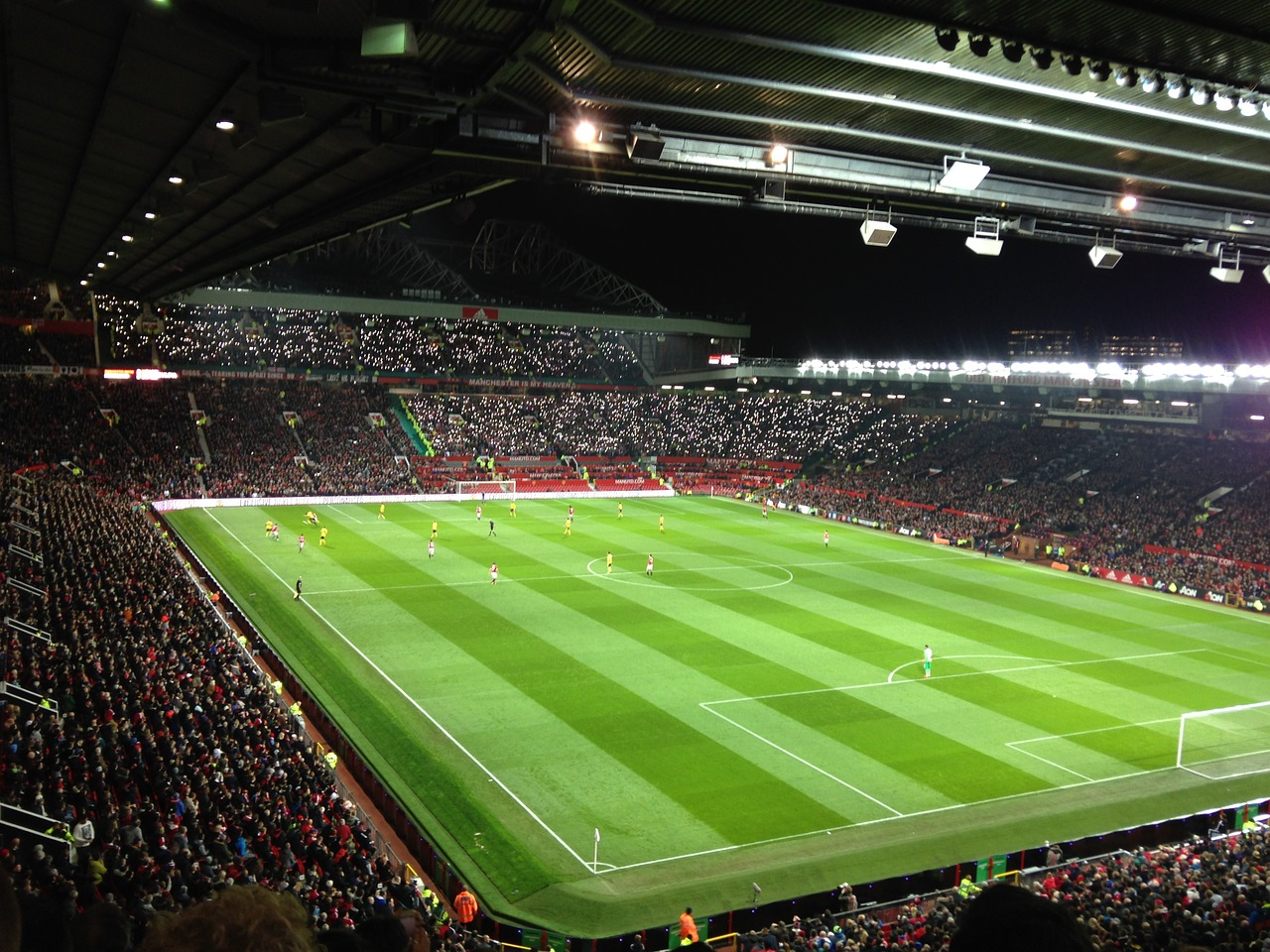 Old Trafford stadion in Manchester