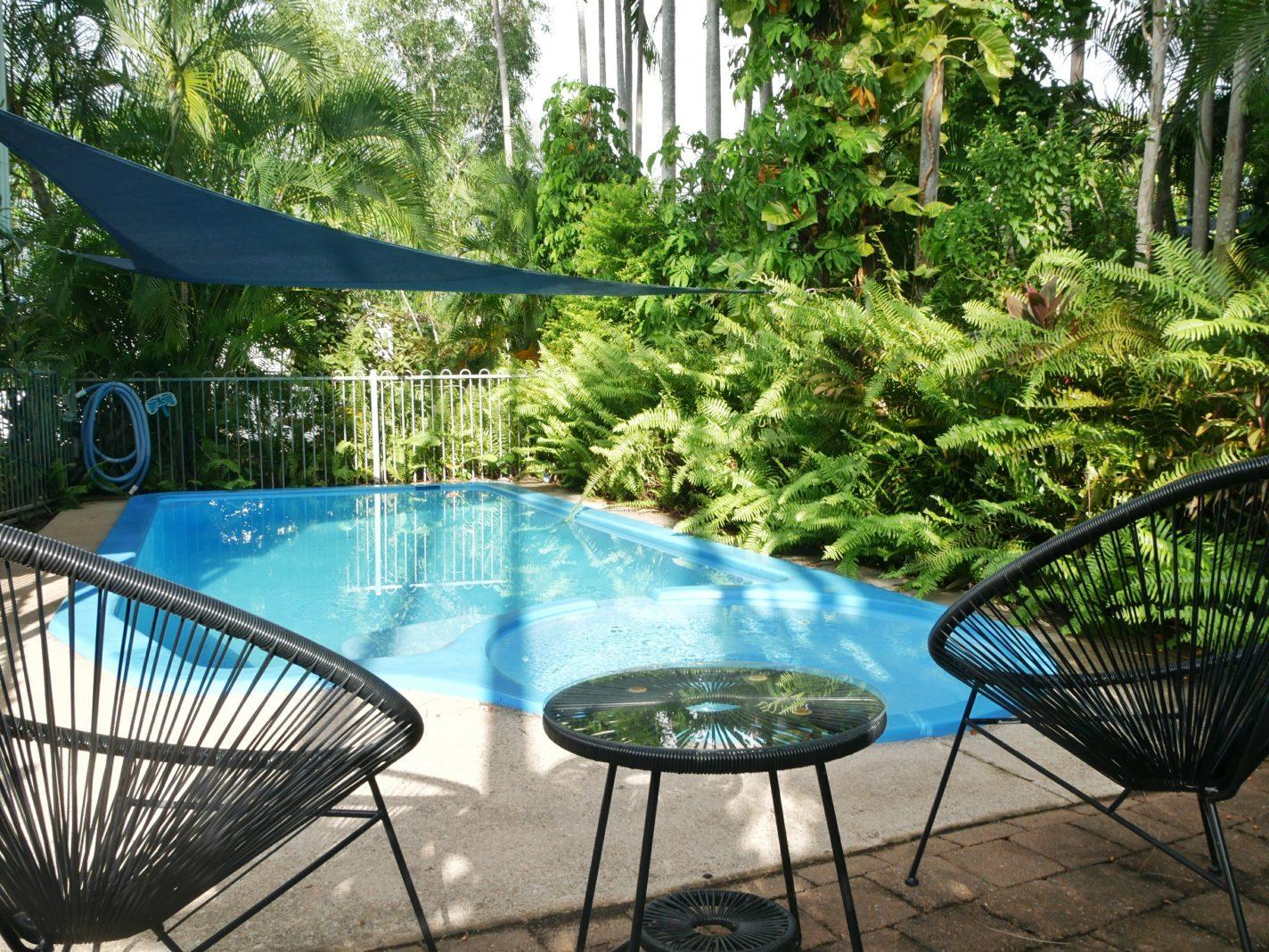 Eigen zwembad (Airbnb Darwin)