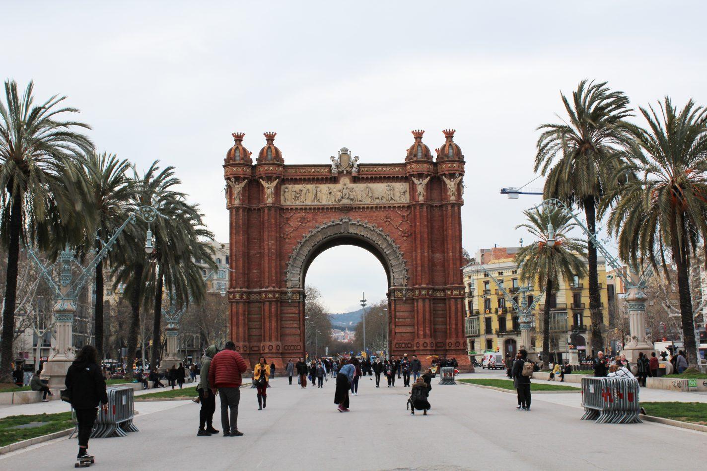 Arc de Triomf - Spots in Barcelona