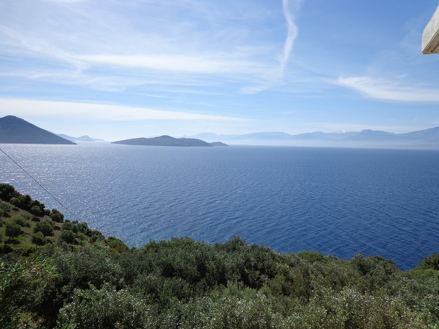 Uitzicht over de Golf van Korinthe