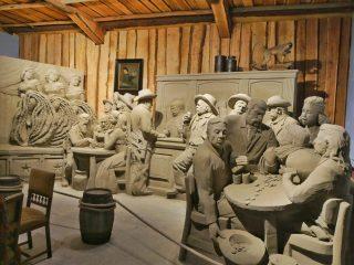Zandsculpturenfestijn in Garderen: maak een reis om de wereld!