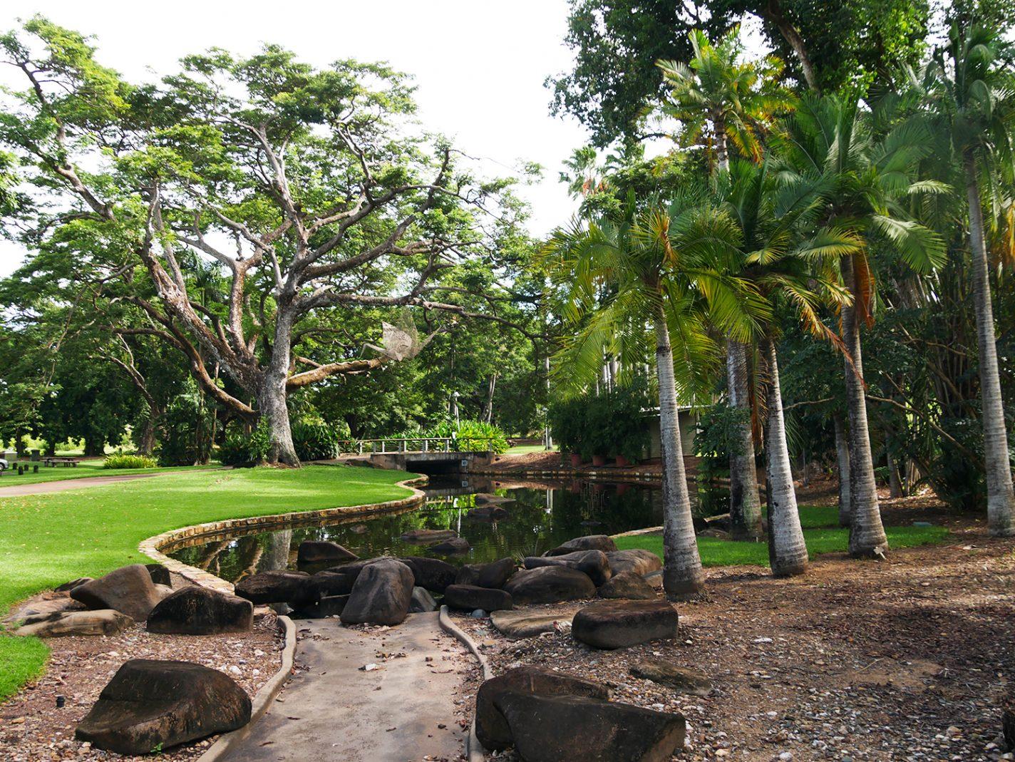 Botanische tuinen van Darwin