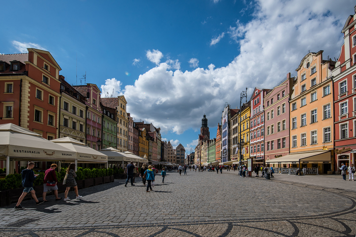 Market Square in Wroclaw