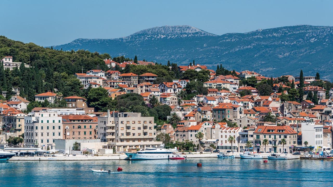 Het prachtige Split in Kroatië