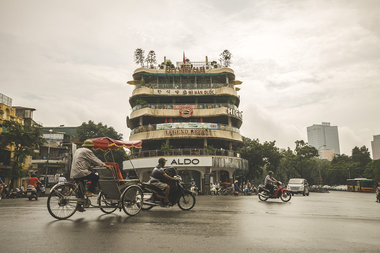 Straat in Hoian