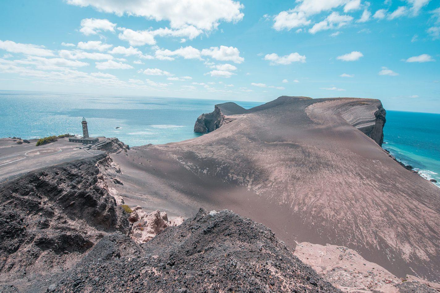 De Capelinhos vulkaan