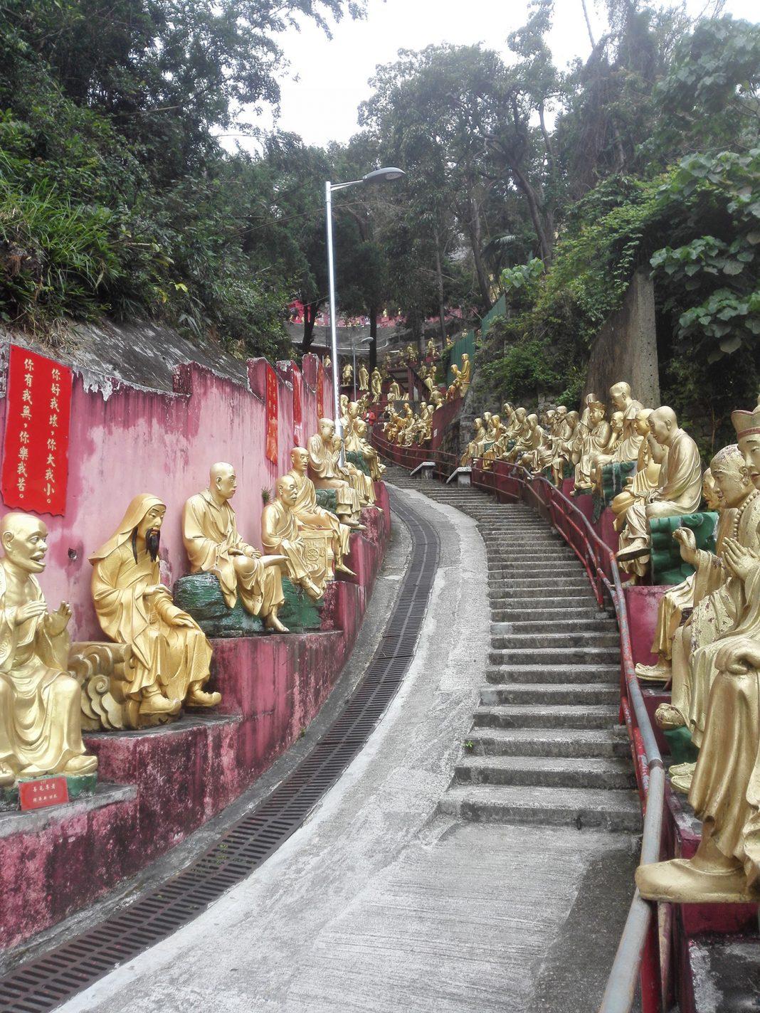 Het Klooster van de Tienduizend Boeddha's - HongKong