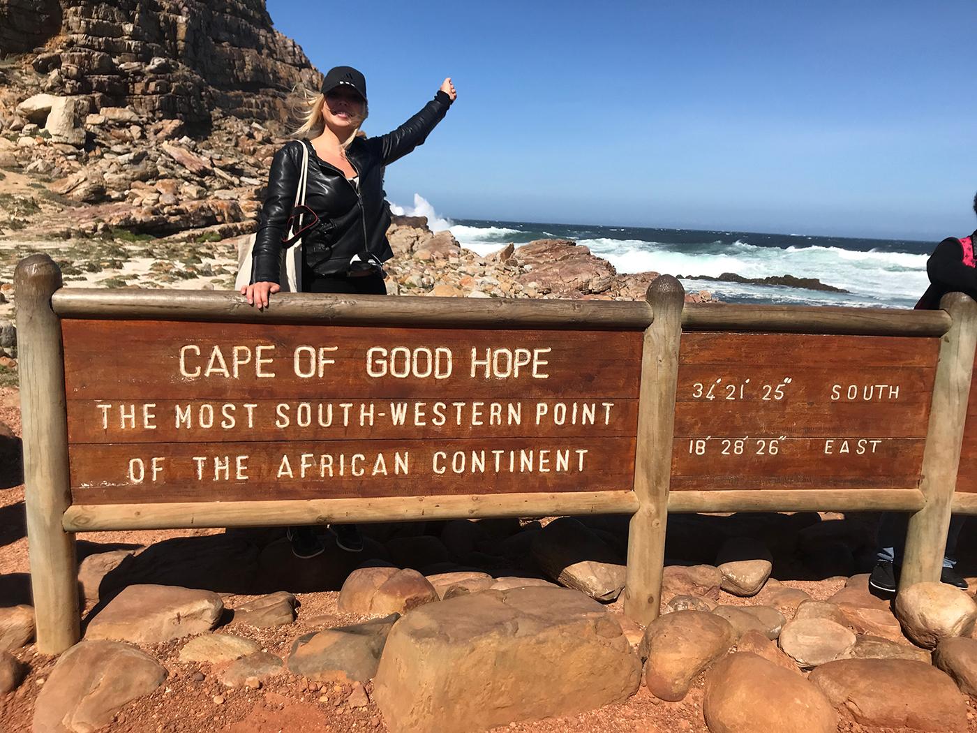 Kaap de Goede Hoop - Het zuidelijkste puntje van Afrika.