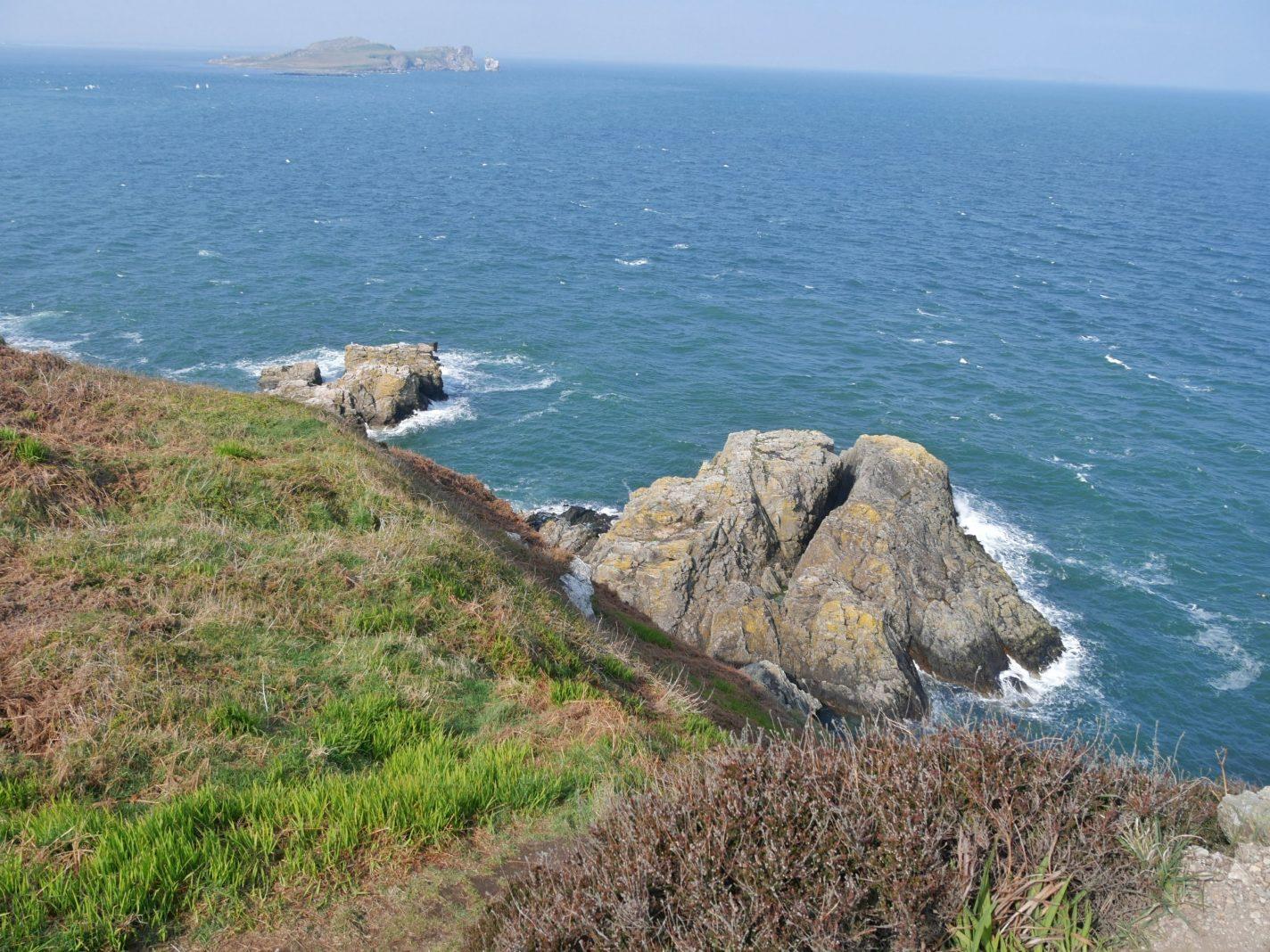Cliff walk bij Howth