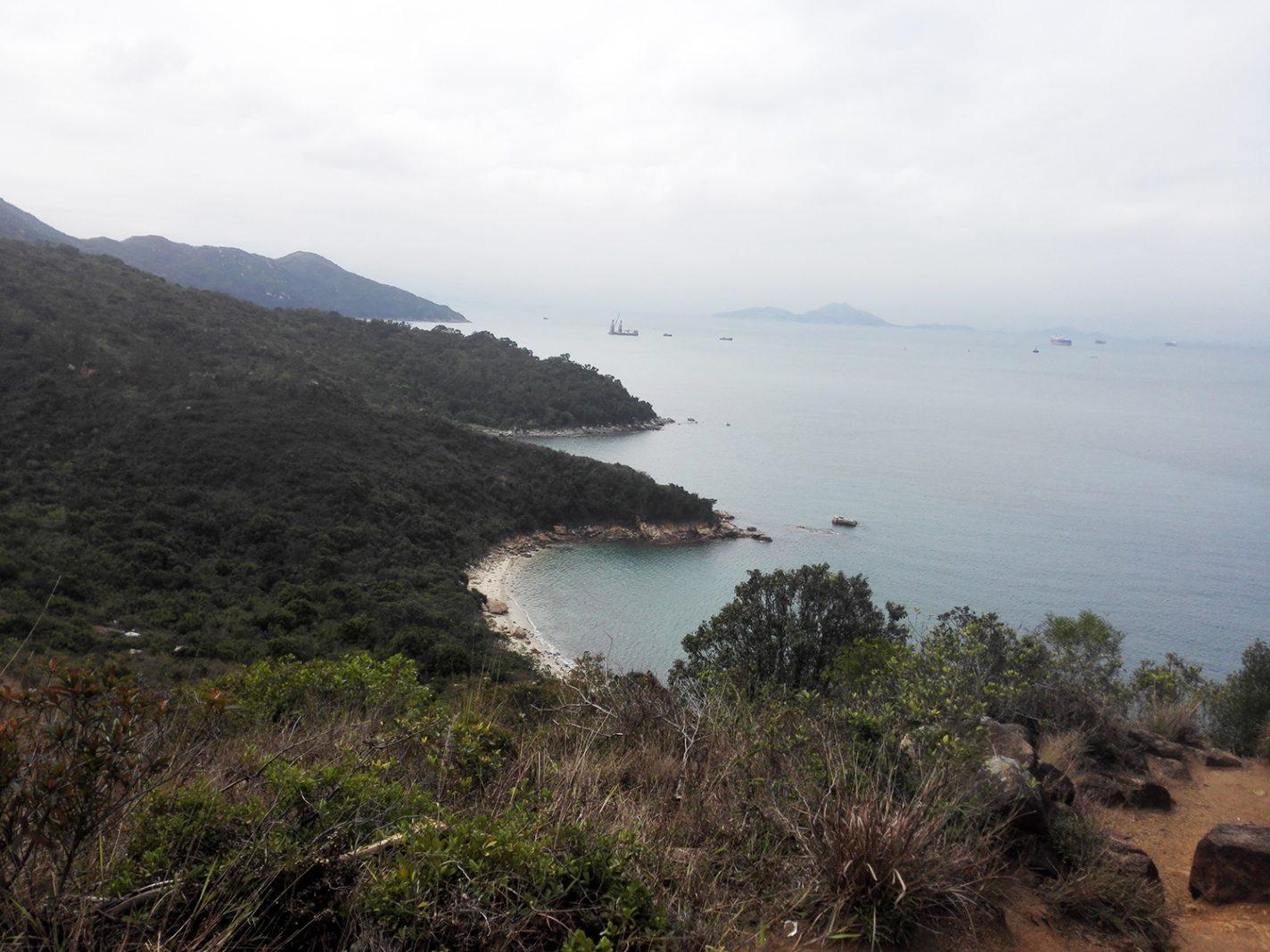 Een prachtig uitzicht over de Zuid-Chinese Zee - Lamma Island
