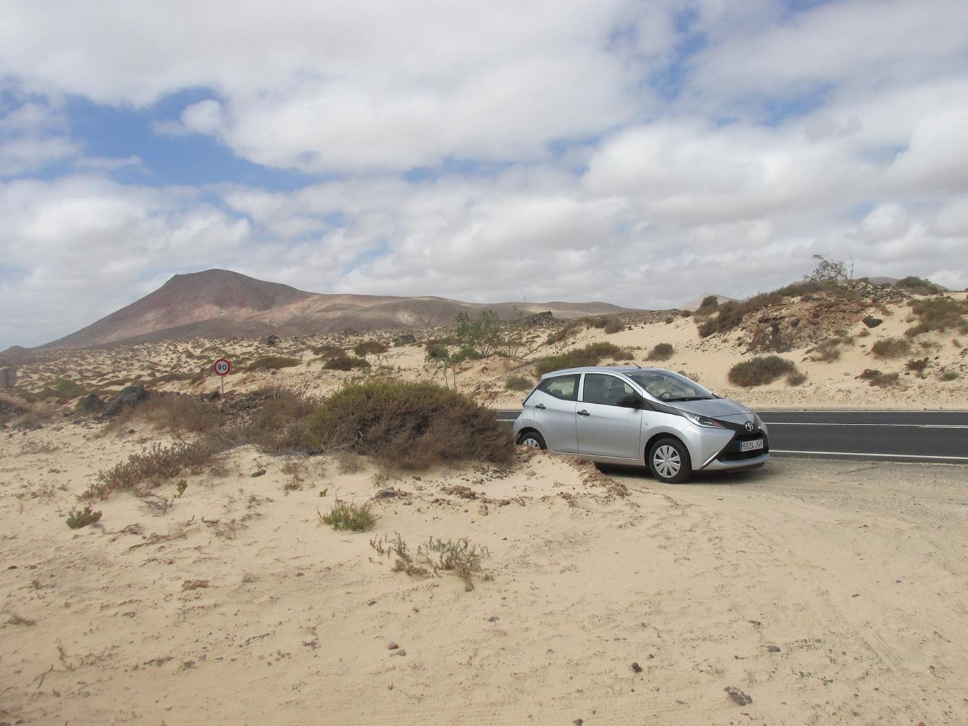 Auto huren op Fuerteventura