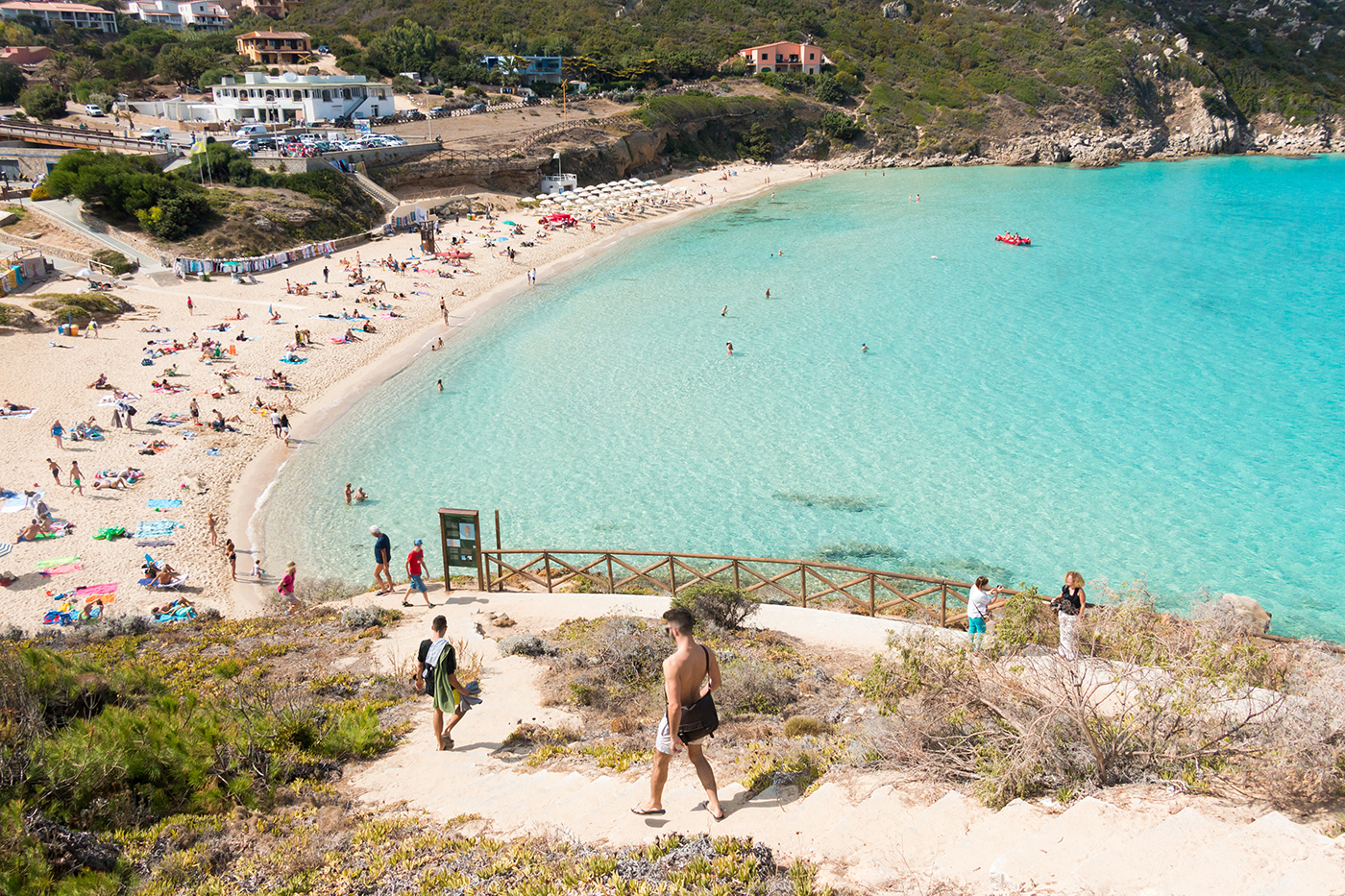 Spiaggia di Rena Bianca - Sardinië