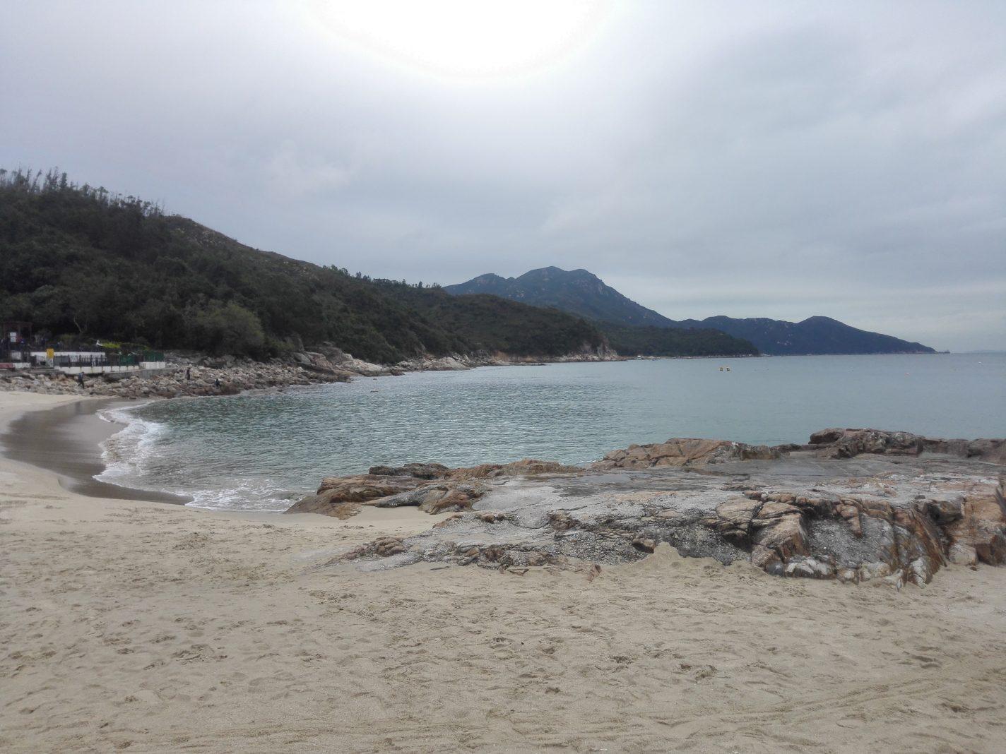 Strand bij Hung Shing Yeh