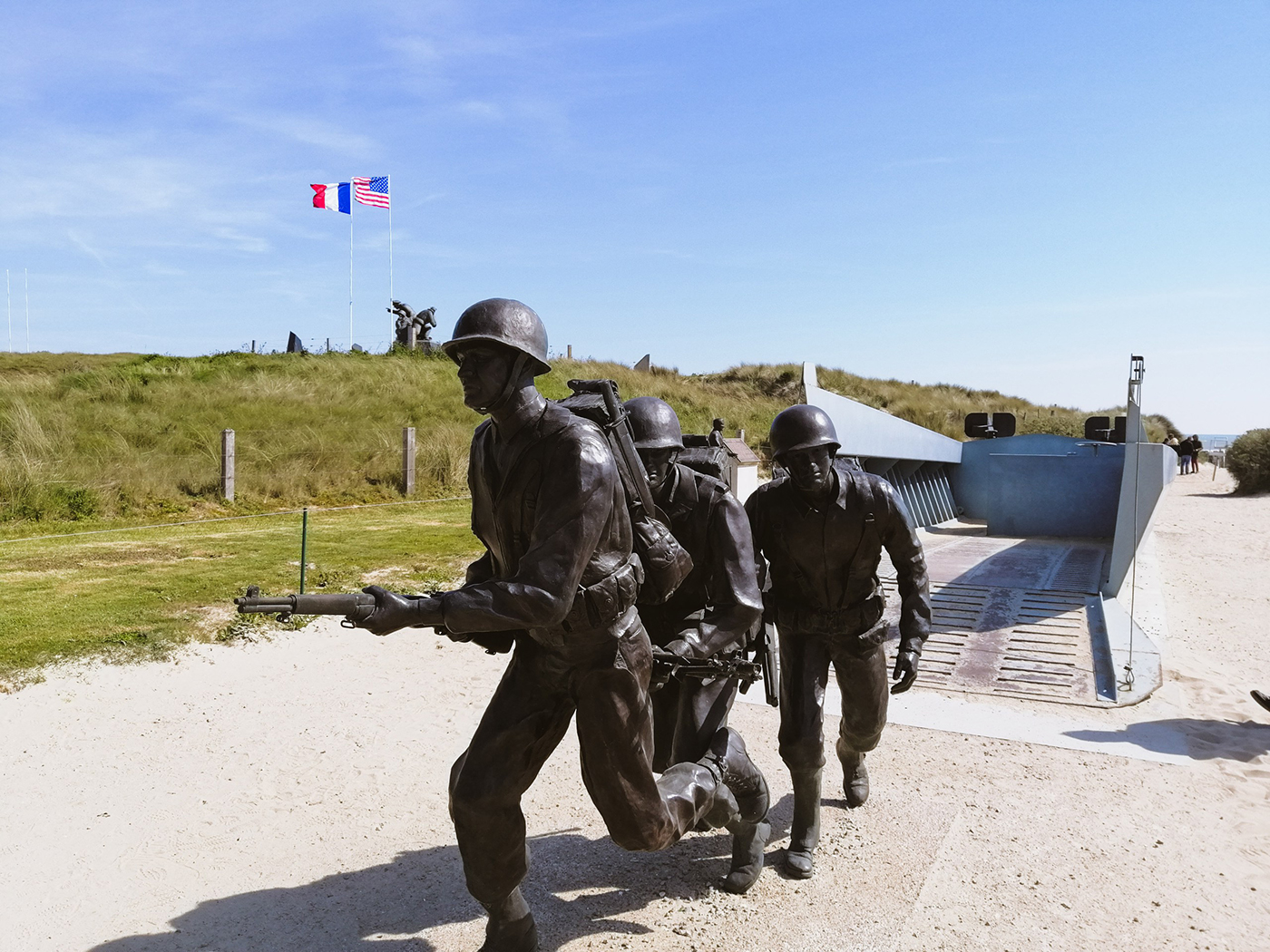 Utah Beach Memorial - Normandië