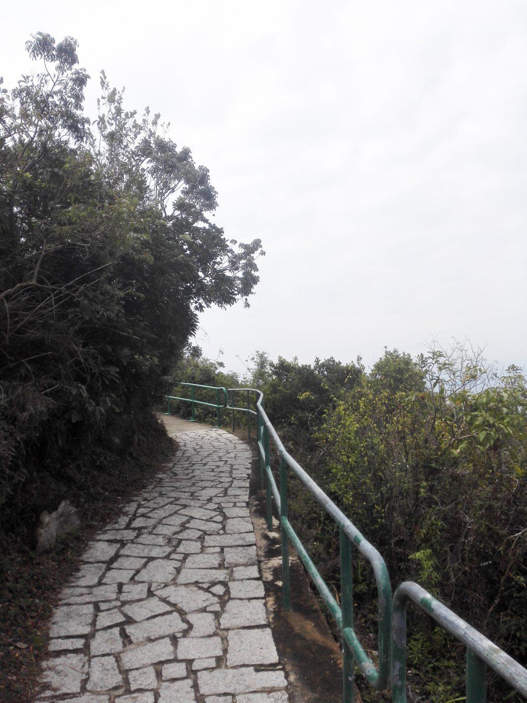 De weg naar het mooie uitzichtpunt - Lamma Island
