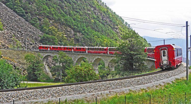Interrailen door Europa