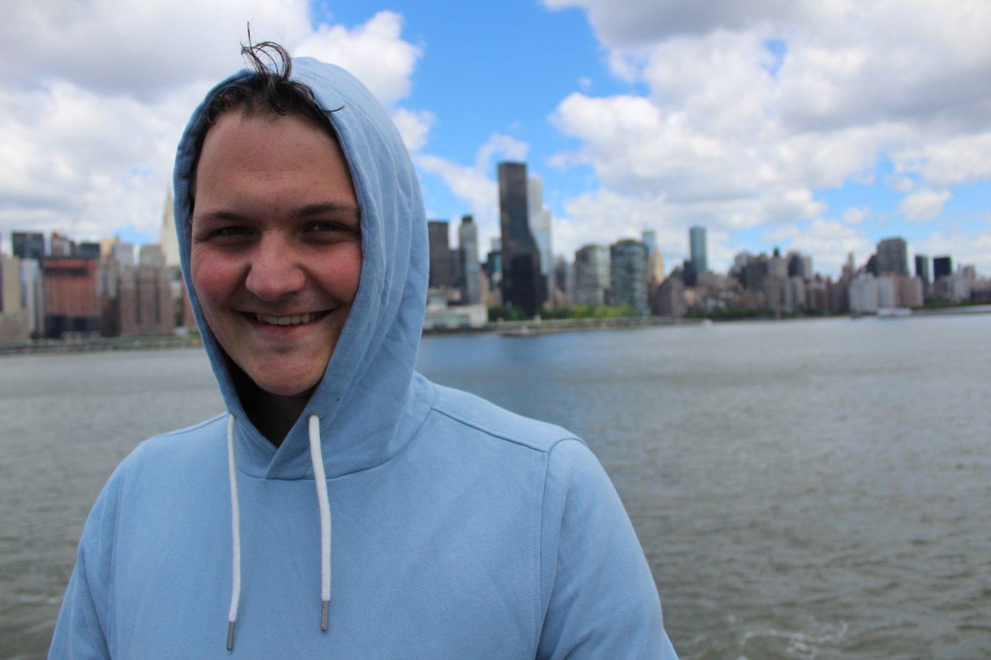 Radio DJ Jasper Leijdens In New York