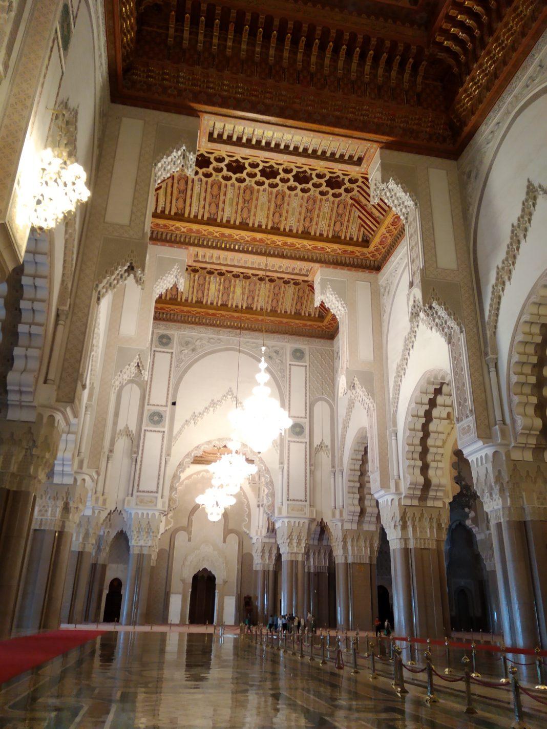 In de Hassan II moskee