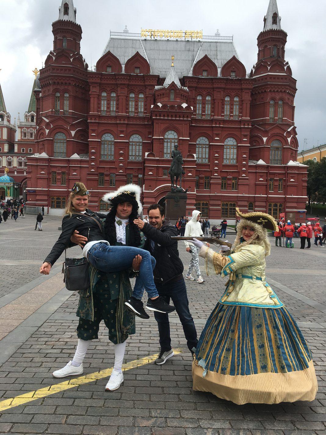 Traditioneel' historisch Moskou voor het historisch museum