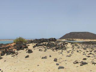 Isla de Lobos - klein eilandje voor de kust van Fuerteventura