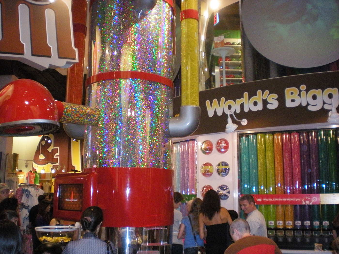 M & M store in New York - citytrip New York