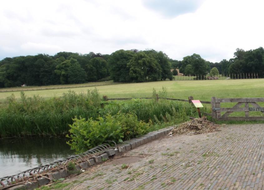 Sonsbeek park in Arnhem - stedentocht oosten van Nederland
