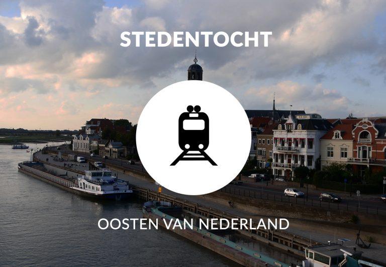 Stedentocht - oosten van Nederland