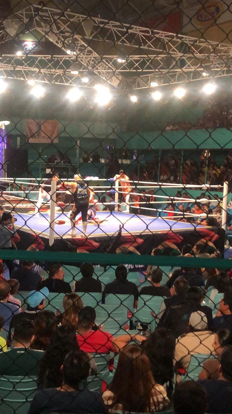 Mexicaanse worstelwedstrijd