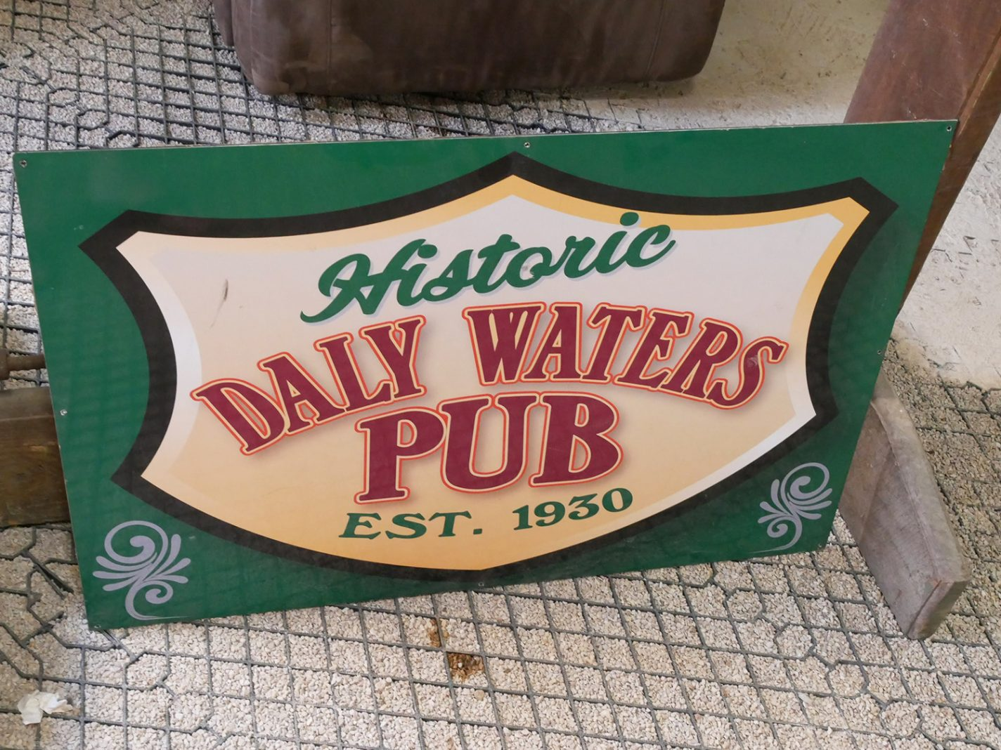 Historic Daly Waters Pub - Outback Australië