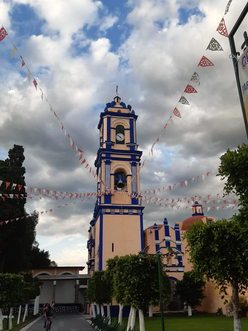 Kerk in Cholula