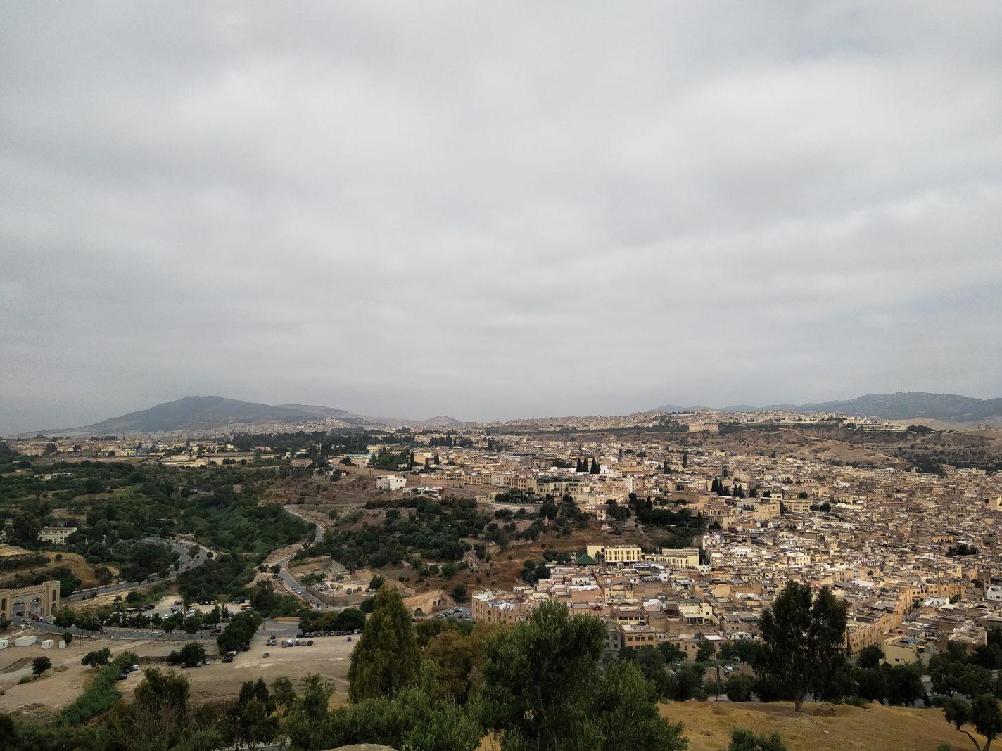 Uitzicht op Borj Sud