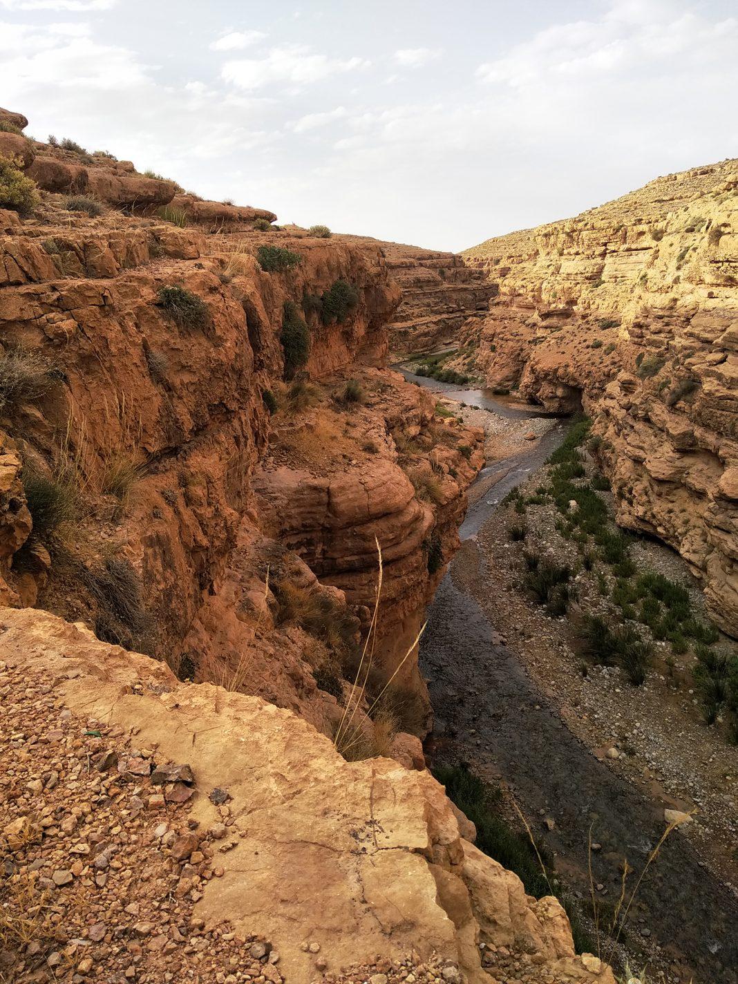 De Kloof van Berrem - richting de Sahara