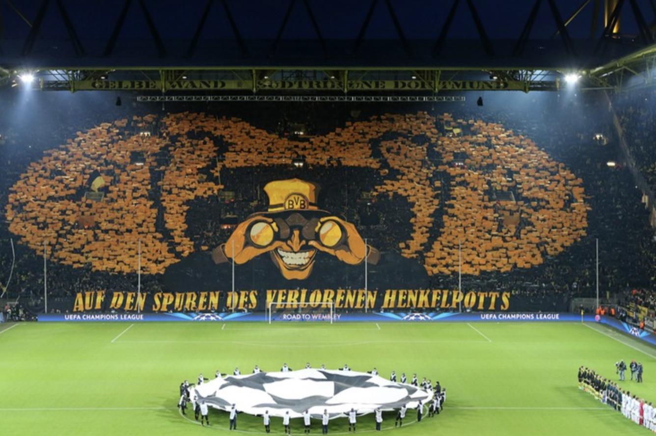 Signal Iduna Park - Borussia Dortmund - mooiste voetbalstadions van Europa