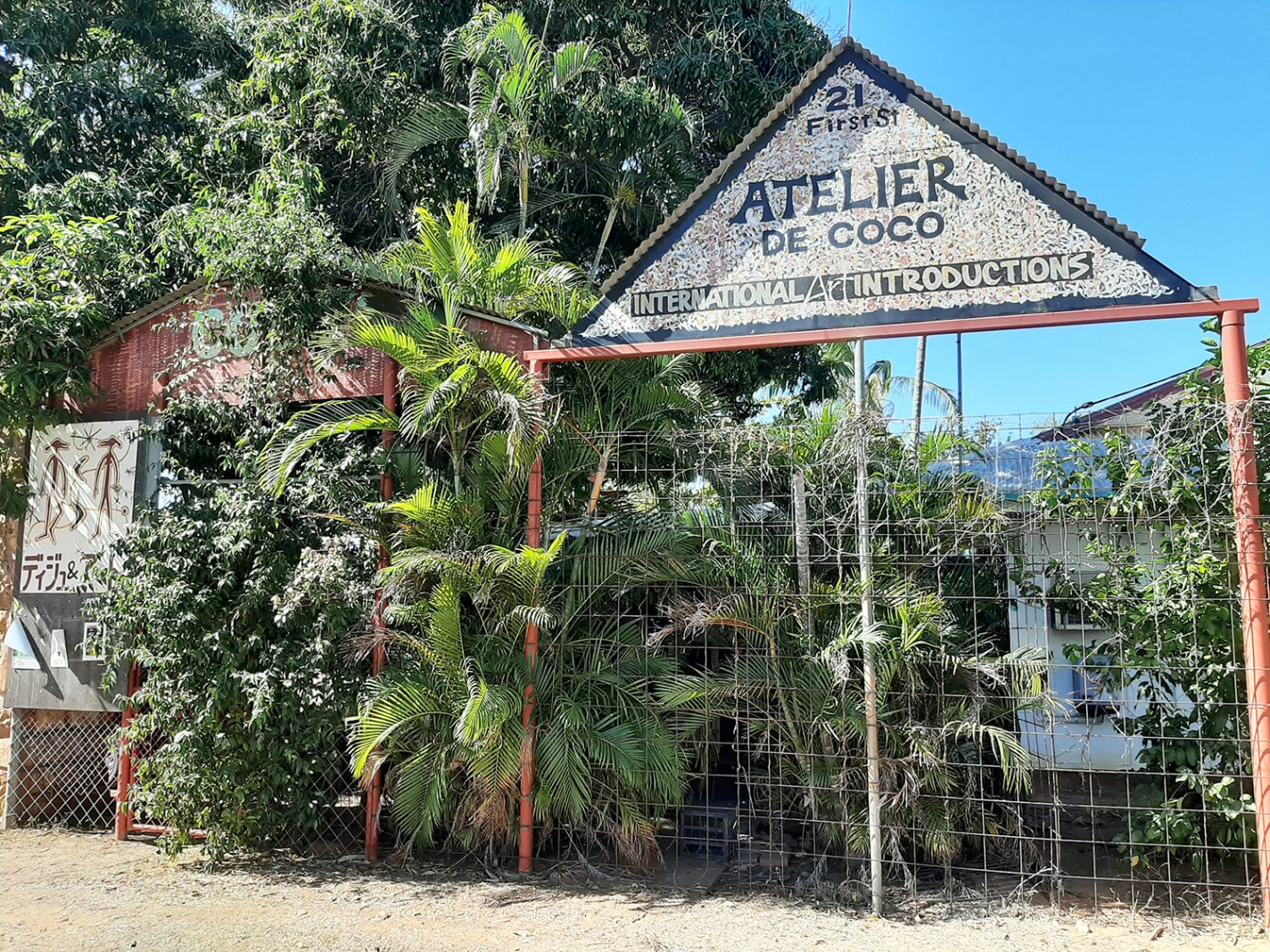 Atelier de coco in Katherine - roadtrip door de Outback