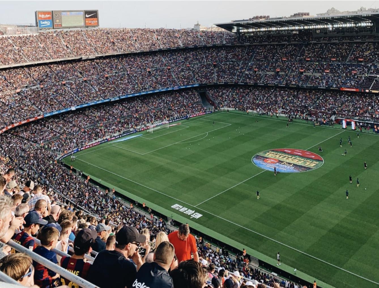 Camp Nou Barcelona - De mooiste voetbalstadions van Europa