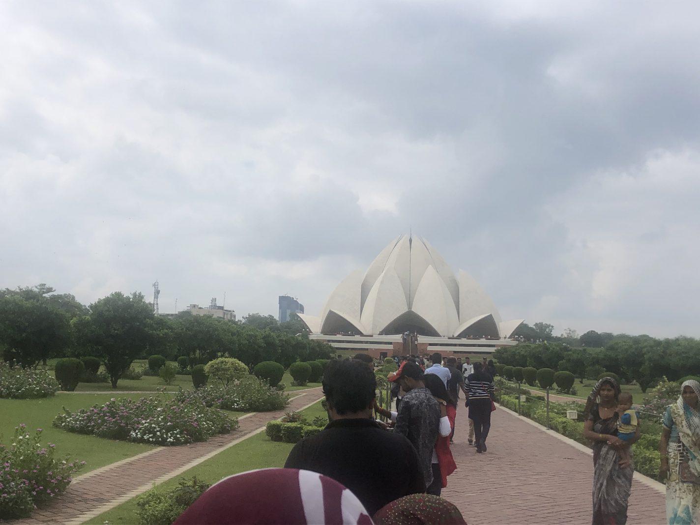 De Lotus Tempel - De grote steden van India