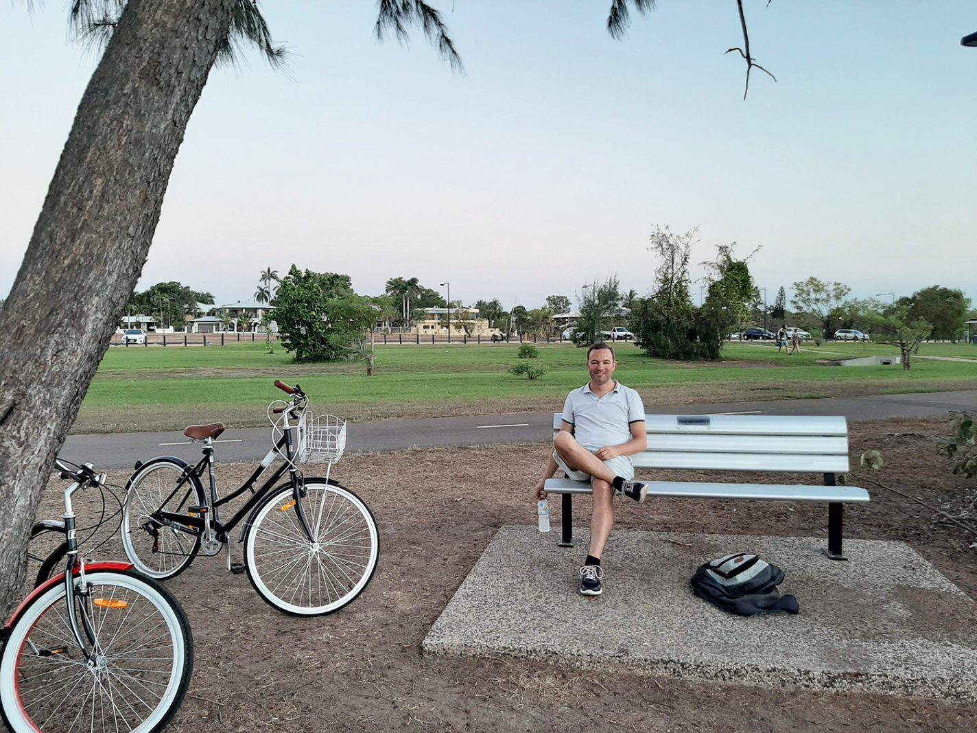 Met de fiets naar Nightcliff