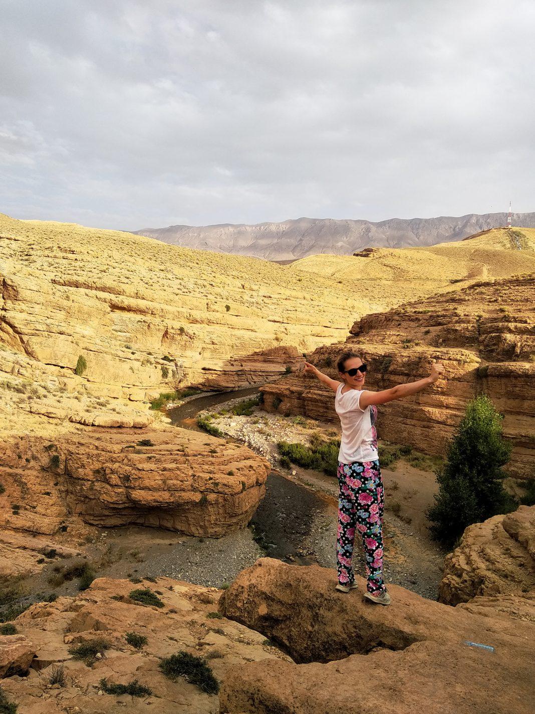 Kloof van Berrem: een prachtige plek in Marokko - richting de Sahara